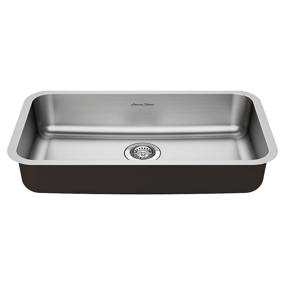 American Standard Portsmouth 30x18-inch ADA Single Bowl Stainless Steel Kitchen Sink