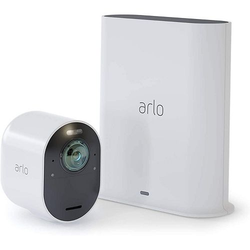 4K UHD Wire-Free Security 1-Camera System
