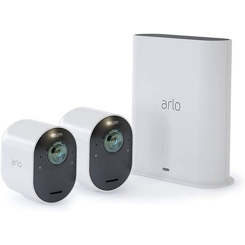 4K UHD Wire-Free Security 2-Camera System