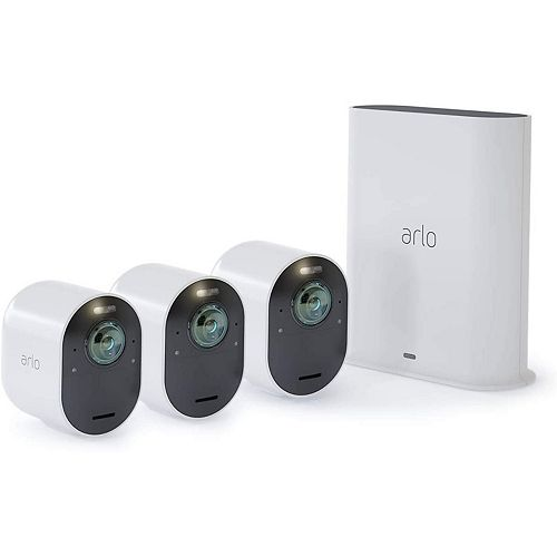 Arlo 4K UHD Wire-Free Security 3-Camera System