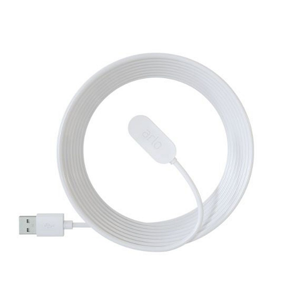Arlo Ultra & Pro 3 8 ft. Indoor Magnetic Charging Cable