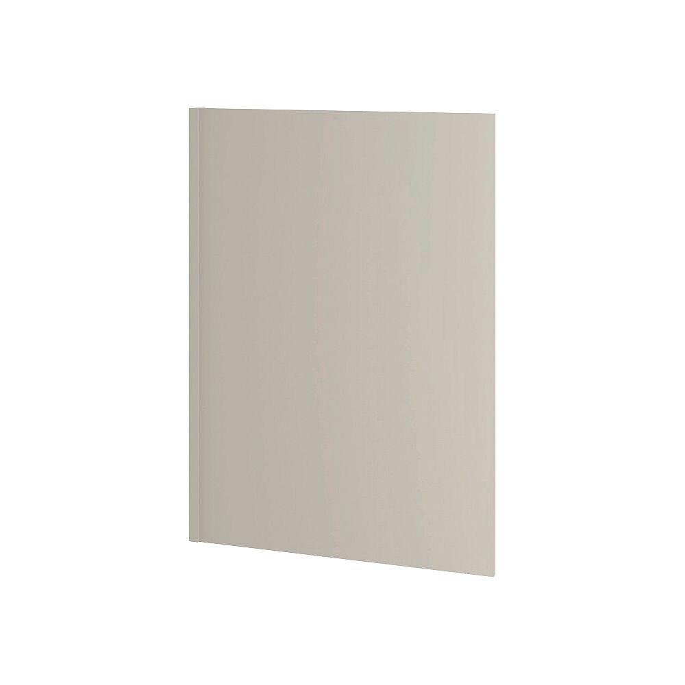 Thomasville Nouveau Rhett 0.63-inch W x 35.25-inch H x 25-inch D Dishwasher/Desk Panel for Shaker Style Assembled Kitchen Cabinet/Cupboard in Mortar Light Grey (MP2535.2)