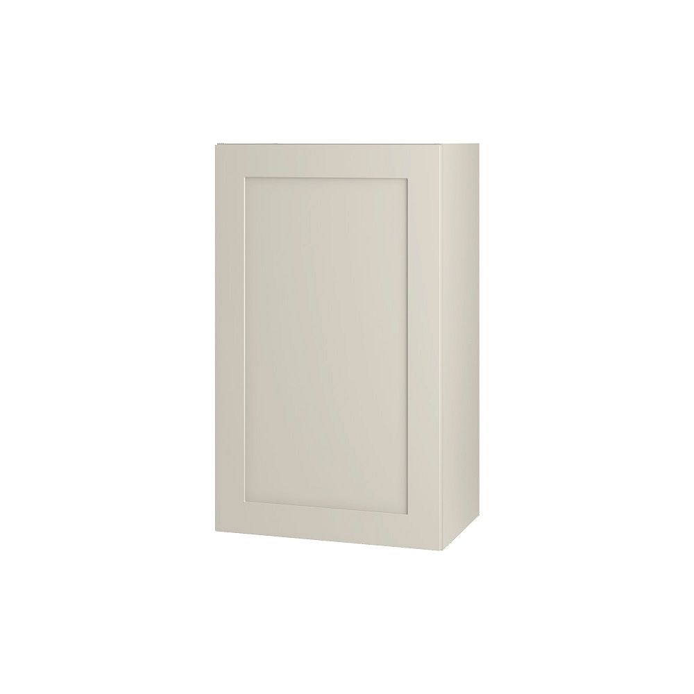 Thomasville Nouveau NOUVEAU Rhett Mortar Assembled Wall Cabinet 18 inches Wide x 30 inches High