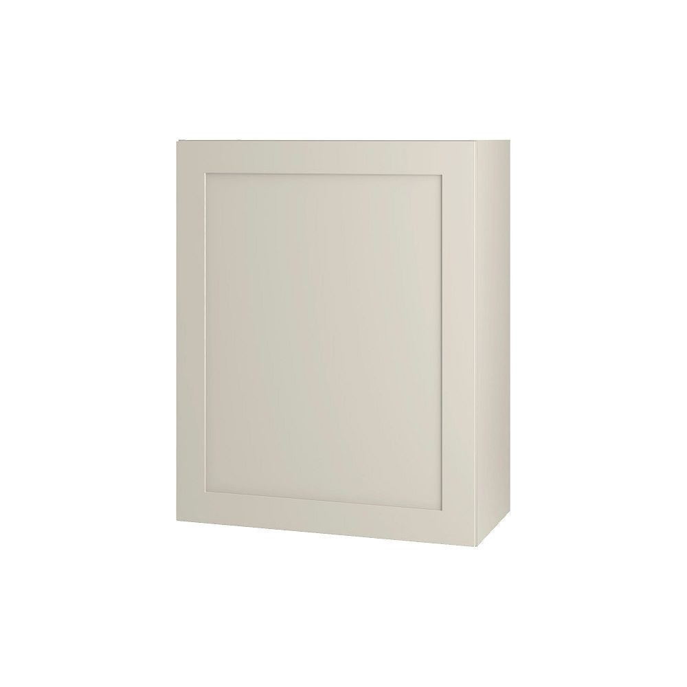 Thomasville Nouveau NOUVEAU Rhett Mortar Assembled Wall Cabinet 24 inches Wide x 30 inches High