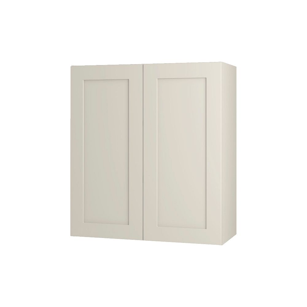 Thomasville NOUVEAU Rhett Mortar Assembled Wall Cabinet 27 inches Wide x 30 inches High
