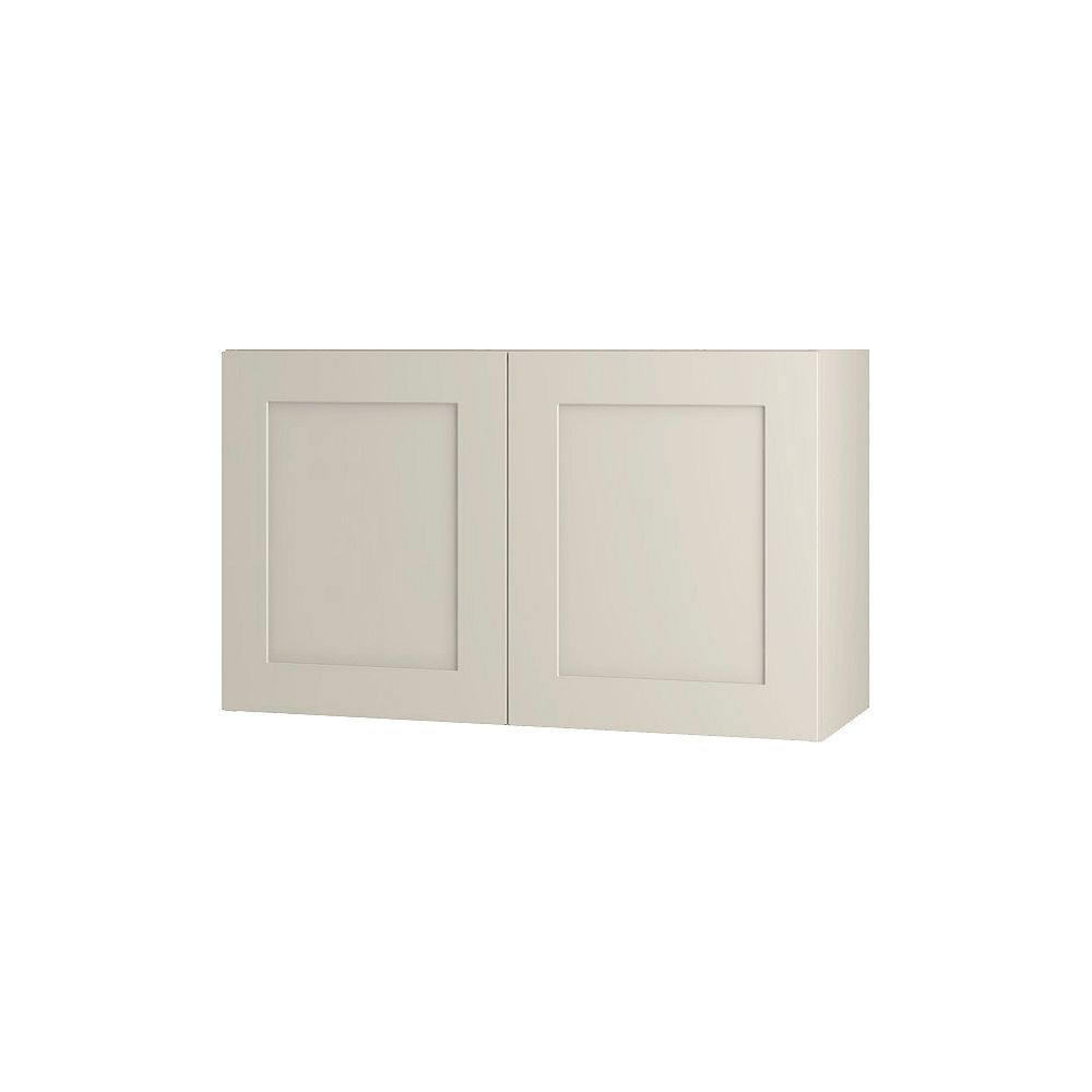 Thomasville NOUVEAU Rhett Mortar Assembled Wall Cabinet 30 inches Wide x 18 inches High