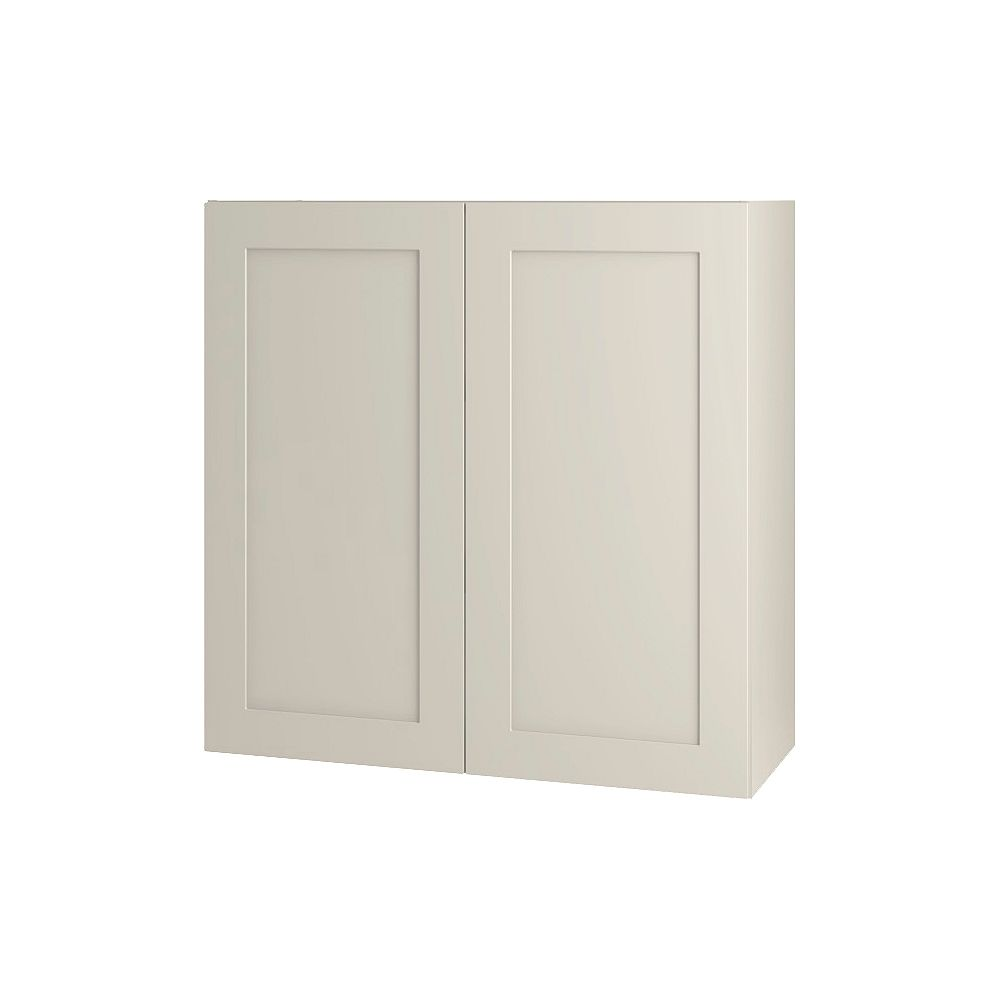 Thomasville NOUVEAU Rhett Mortar Assembled Wall Cabinet 30 inches Wide x 30 inches High