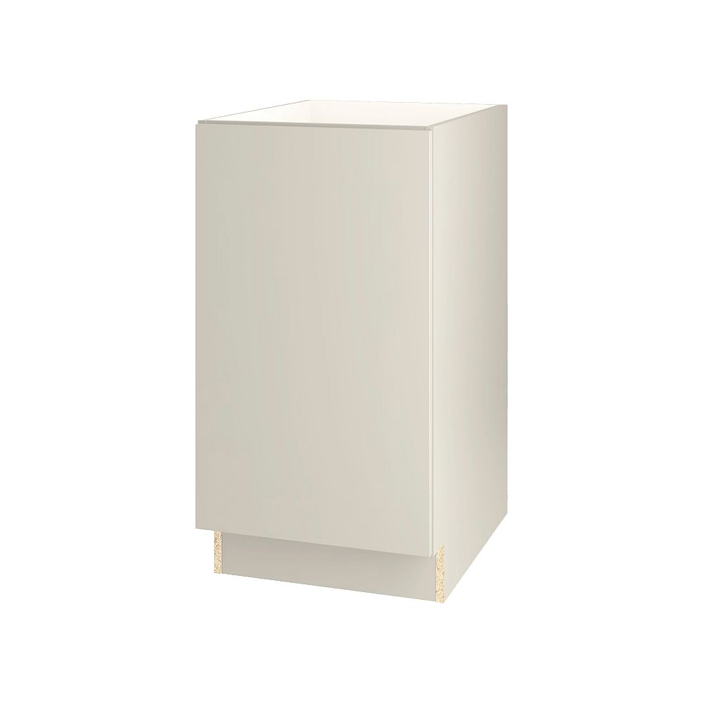 Thomasville NOUVEAU Cavette Mortar Assembled Base Cabinet with Waste Bin Pullout 18 inches Wide