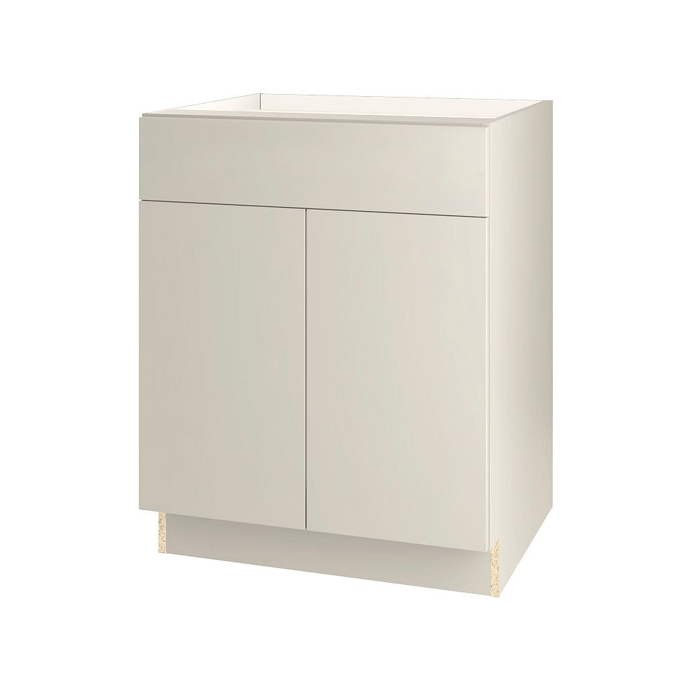 Thomasville NOUVEAU Cavette Mortar Assembled Base Cabinet with Drawer 27 inches Wide