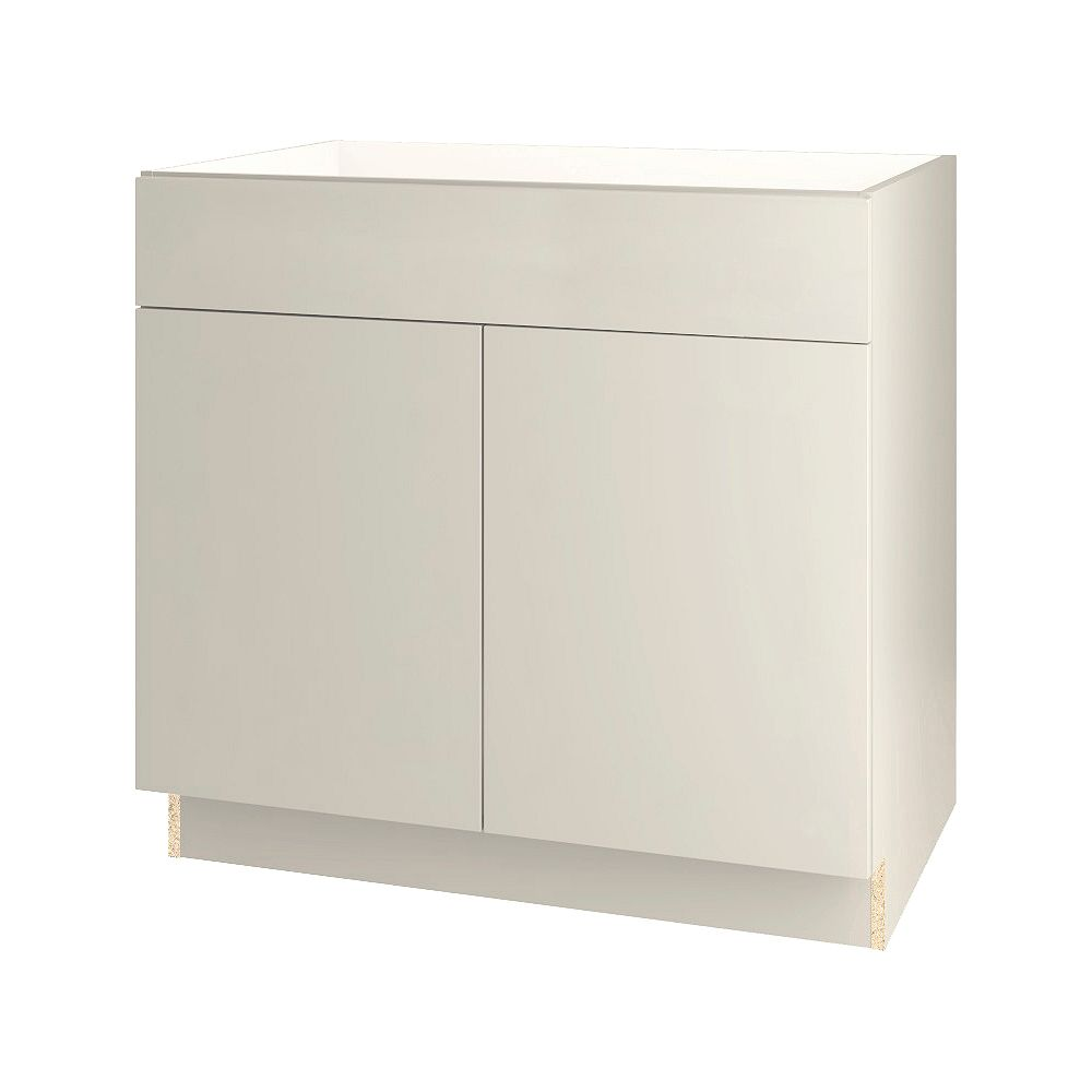 Thomasville NOUVEAU Cavette Mortar Assembled Base Cabinet with Drawer 36 inches Wide
