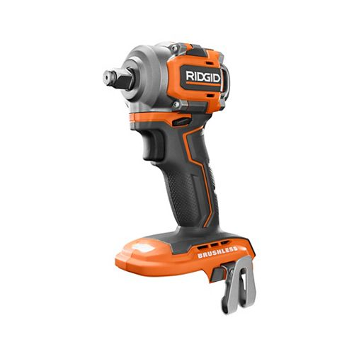 18V SubCompact Lithium-Ion Cordless Brushless 1/2-inch Impact Wrench (Tool Only) with Belt Clip