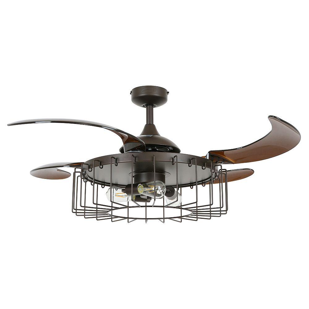 Fanaway Sheridan 48-inch Oil Rubbed Bronze Ceiling Fan with Light