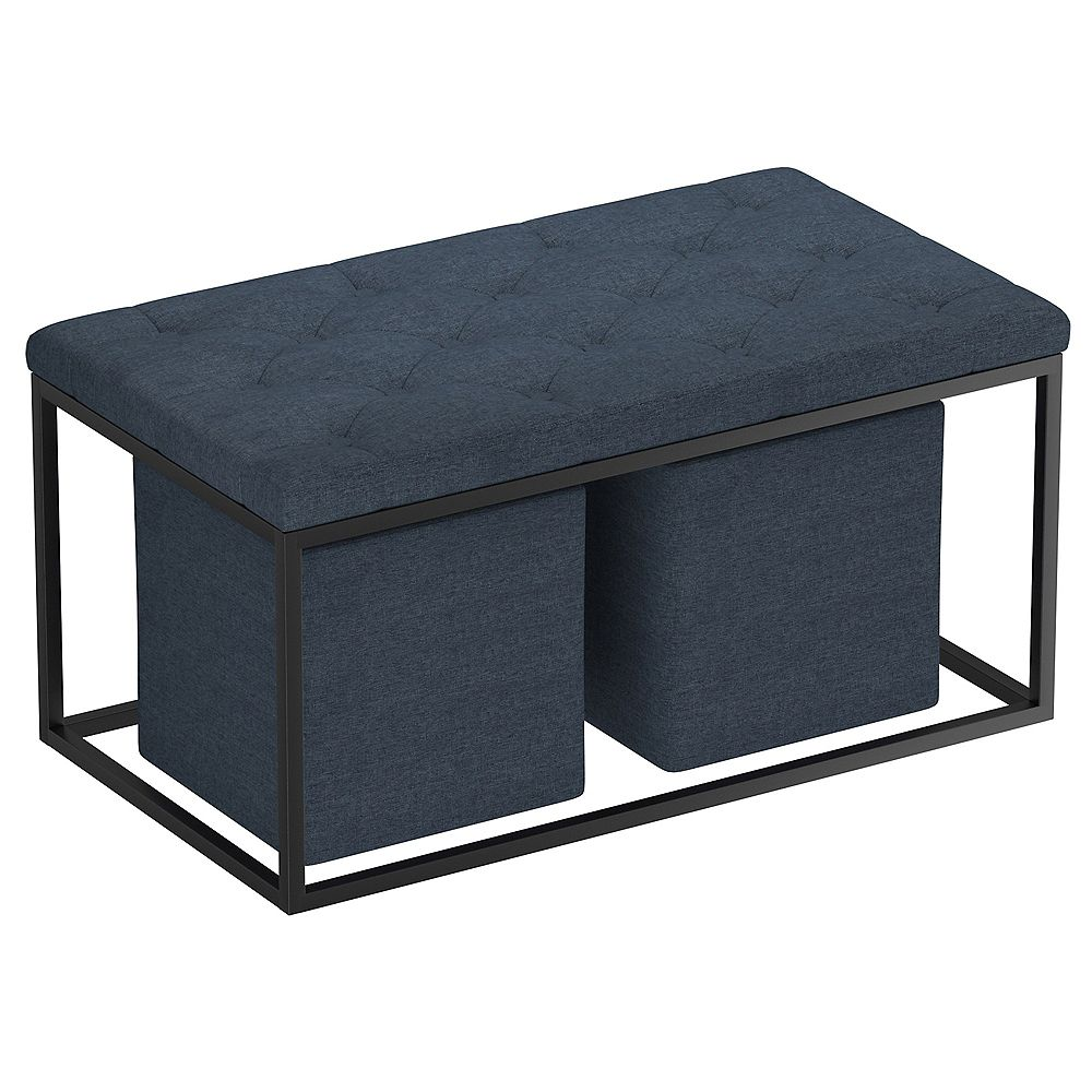 !nspire Upholstered 3 Pc Cocktail Ottoman