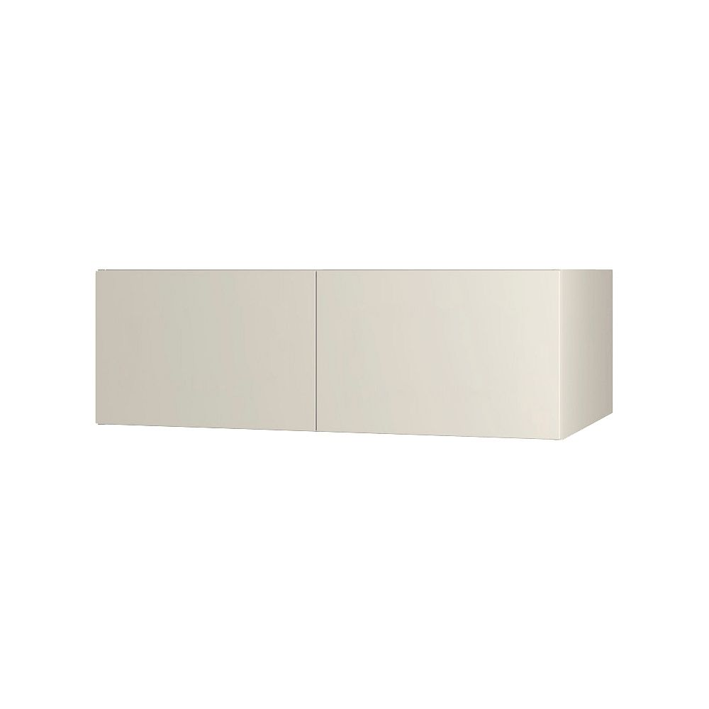 Thomasville NOUVEAU Cavette Mortar Assembled Wall Cabinet 36 inch Wide x 13.5 inch High 24 inch Deep