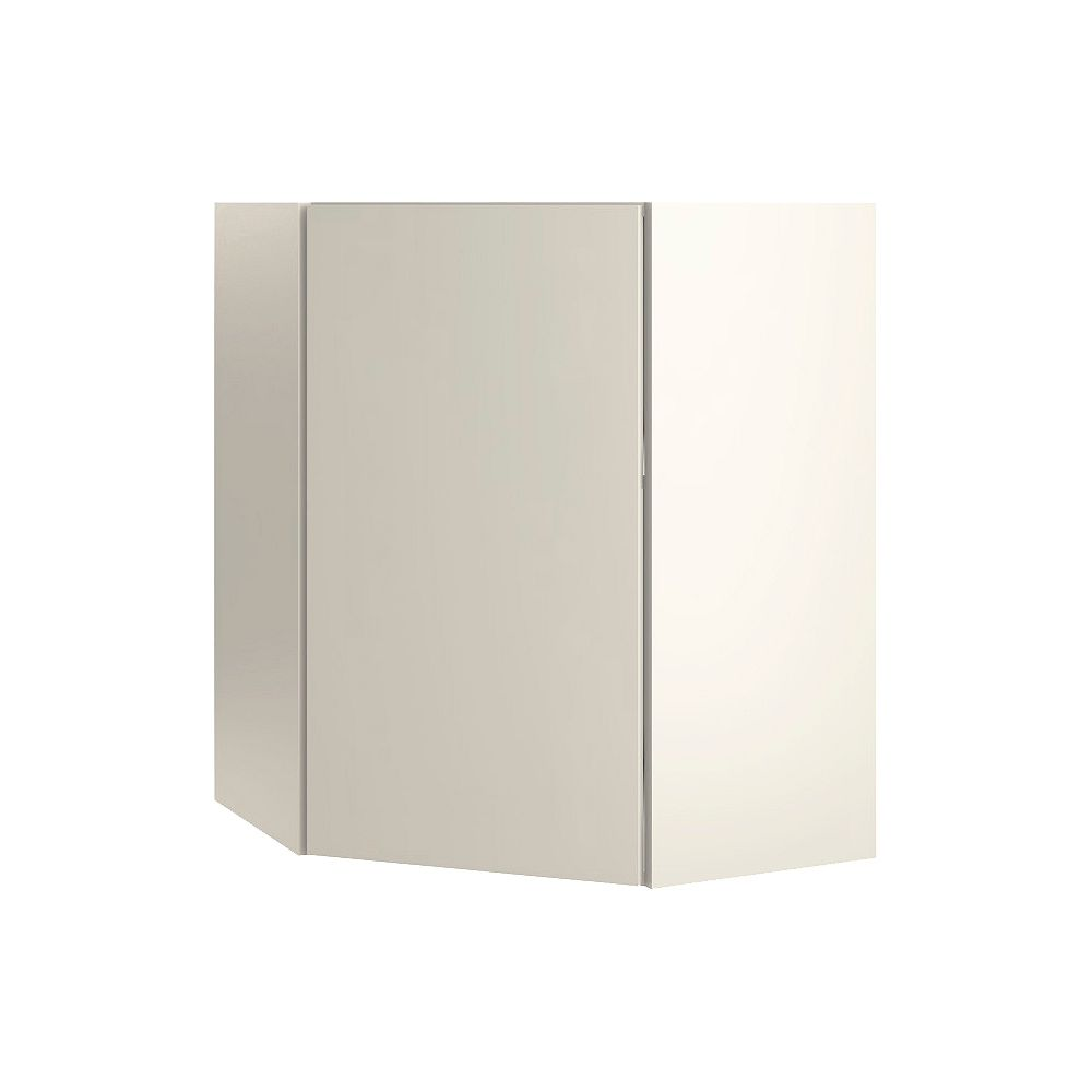 Thomasville NOUVEAU Cavette Mortar Assembled Corner Wall Cabinet 24 inches Wide x 30 inches High