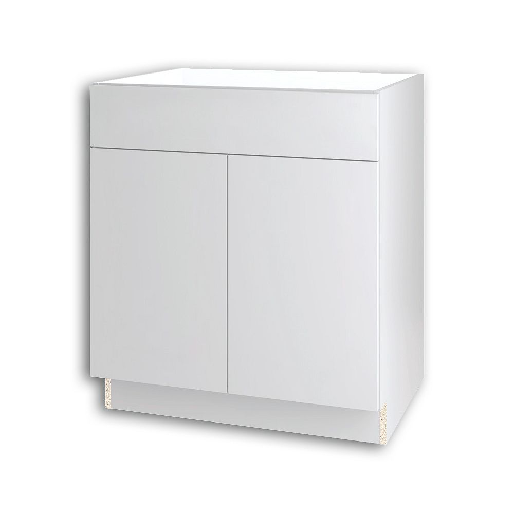 Thomasville Nouveau NOUVEAU Cavette Lilly Assembled Sink Base Cabinet 30 inches Wide