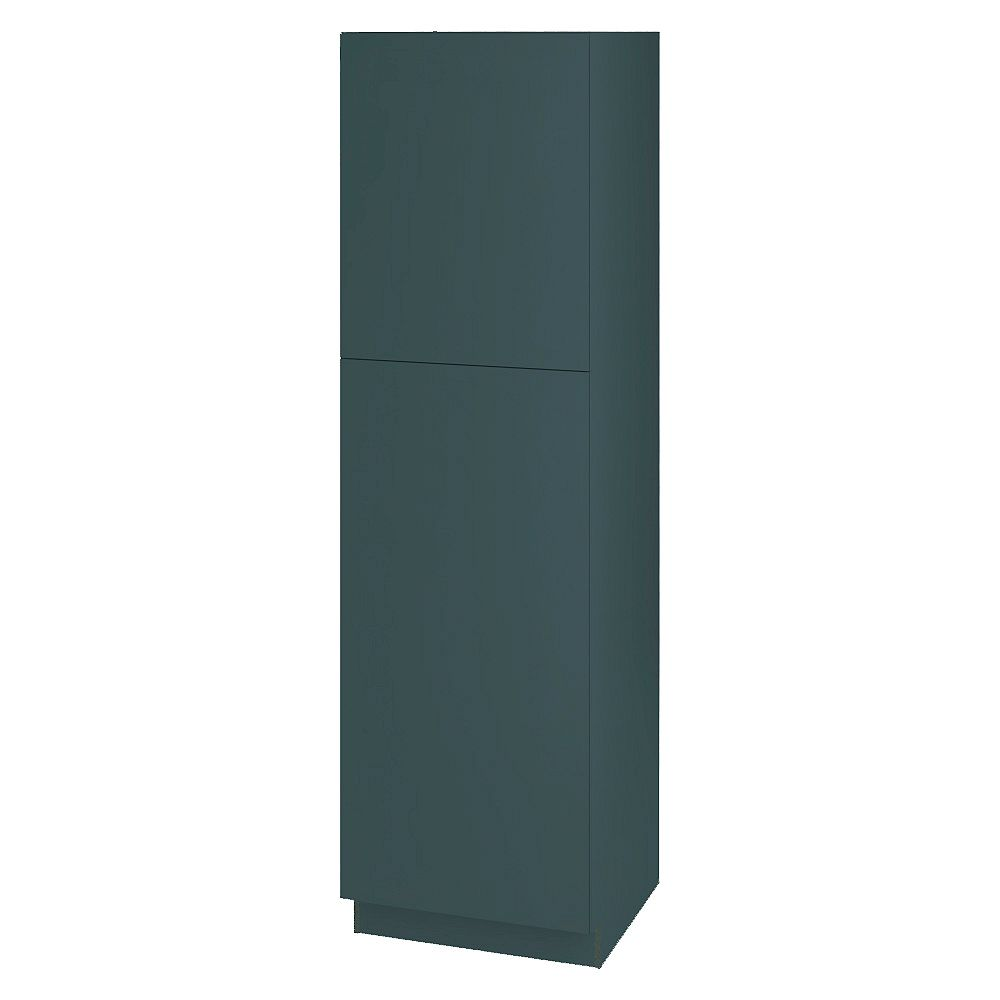 Thomasville NOUVEAU Cavette Lagoon Assembled Pantry Cabinet 24 inch Wide x 84 inch High
