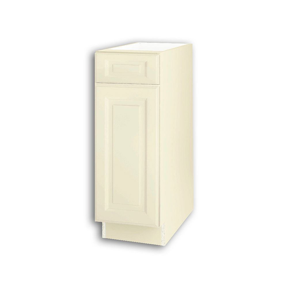 Thomasville Nouveau NOUVEAU Newton Oleander Assembled Base Cabinet with Drawer 12 inches Wide