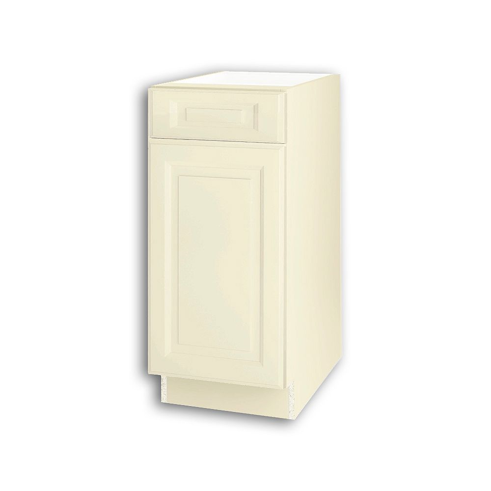 Thomasville NOUVEAU Newton Oleander Assembled Base Cabinet with Drawer 15 inches Wide