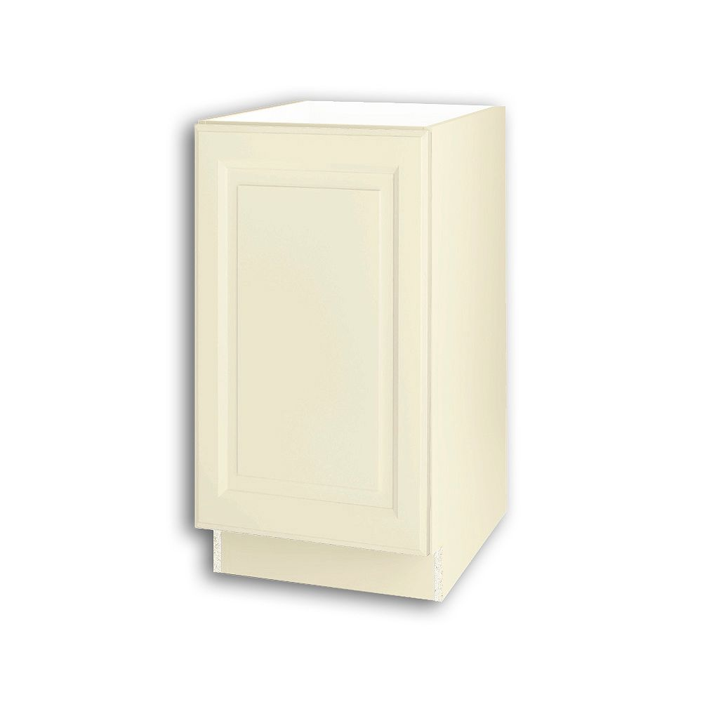 Thomasville NOUVEAU Newton Oleander Assembled Base Cabinet with Waste Bin Pullout 18 inches Wide