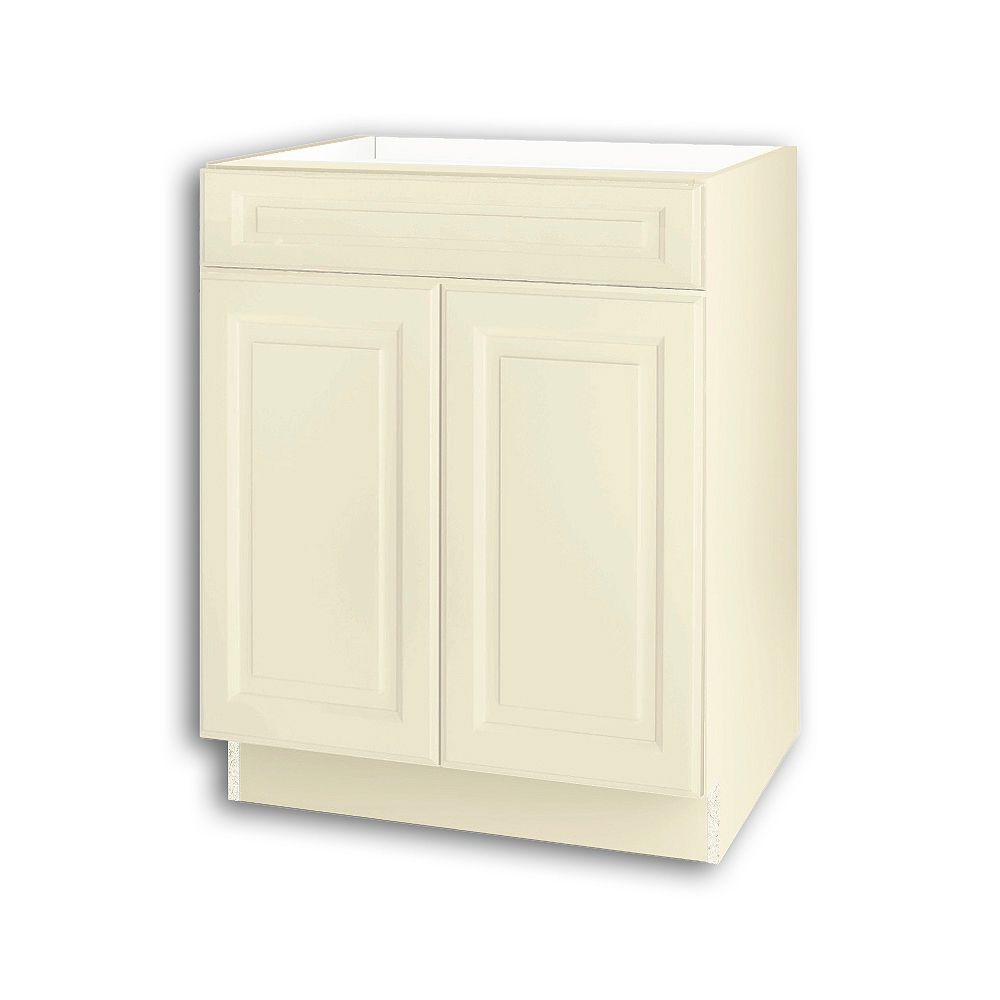 Thomasville NOUVEAU Newton Oleander Assembled Base Cabinet with Drawer 27 inches Wide