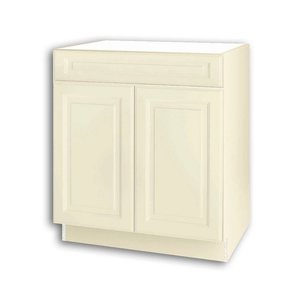 Thomasville NOUVEAU Newton Oleander Assembled Sink Base Cabinet 30 inches Wide