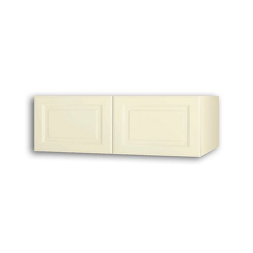 NOUVEAU Newton Oleander Assembled Wall Cabinet 36 inch Wide x 13.5 inch High 24 inch Deep