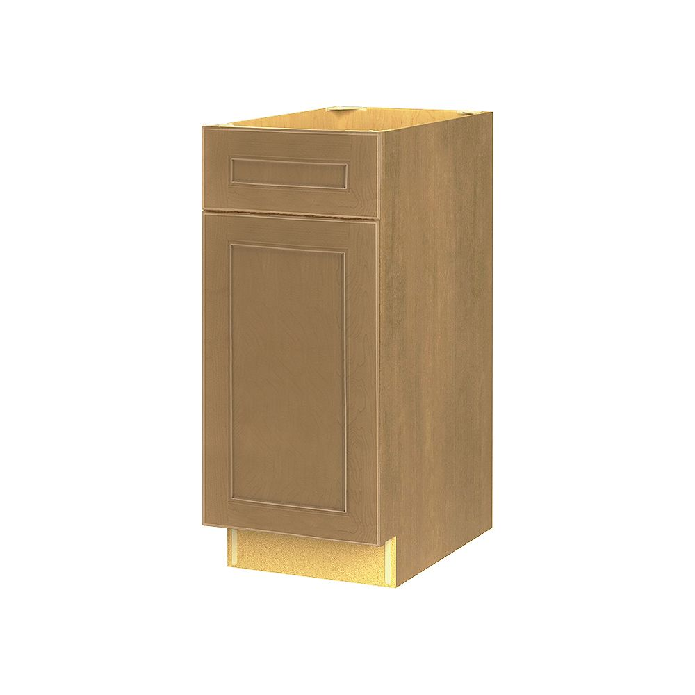 Thomasville NOUVEAU Rhodes Tumbleweed Assembled Base Cabinet with Drawer 15 inches Wide