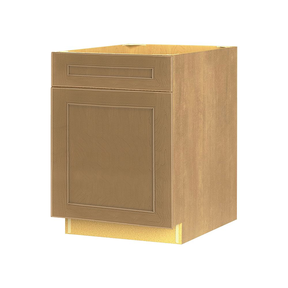 Thomasville Nouveau NOUVEAU Rhodes Tumbleweed Assembled Base Cabinet with Drawer 24 inches Wide