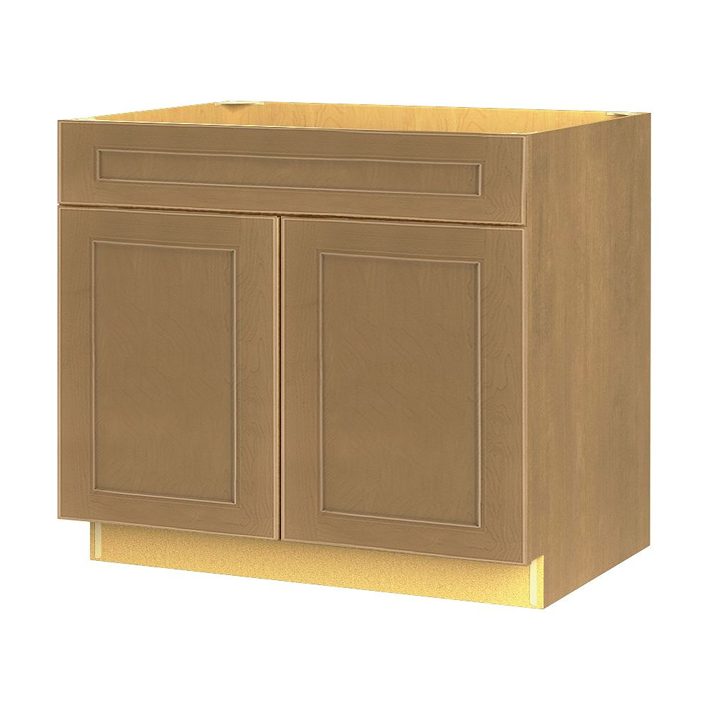 Thomasville Nouveau NOUVEAU Rhodes Tumbleweed Assembled Base Cabinet with Drawer 36 inches Wide