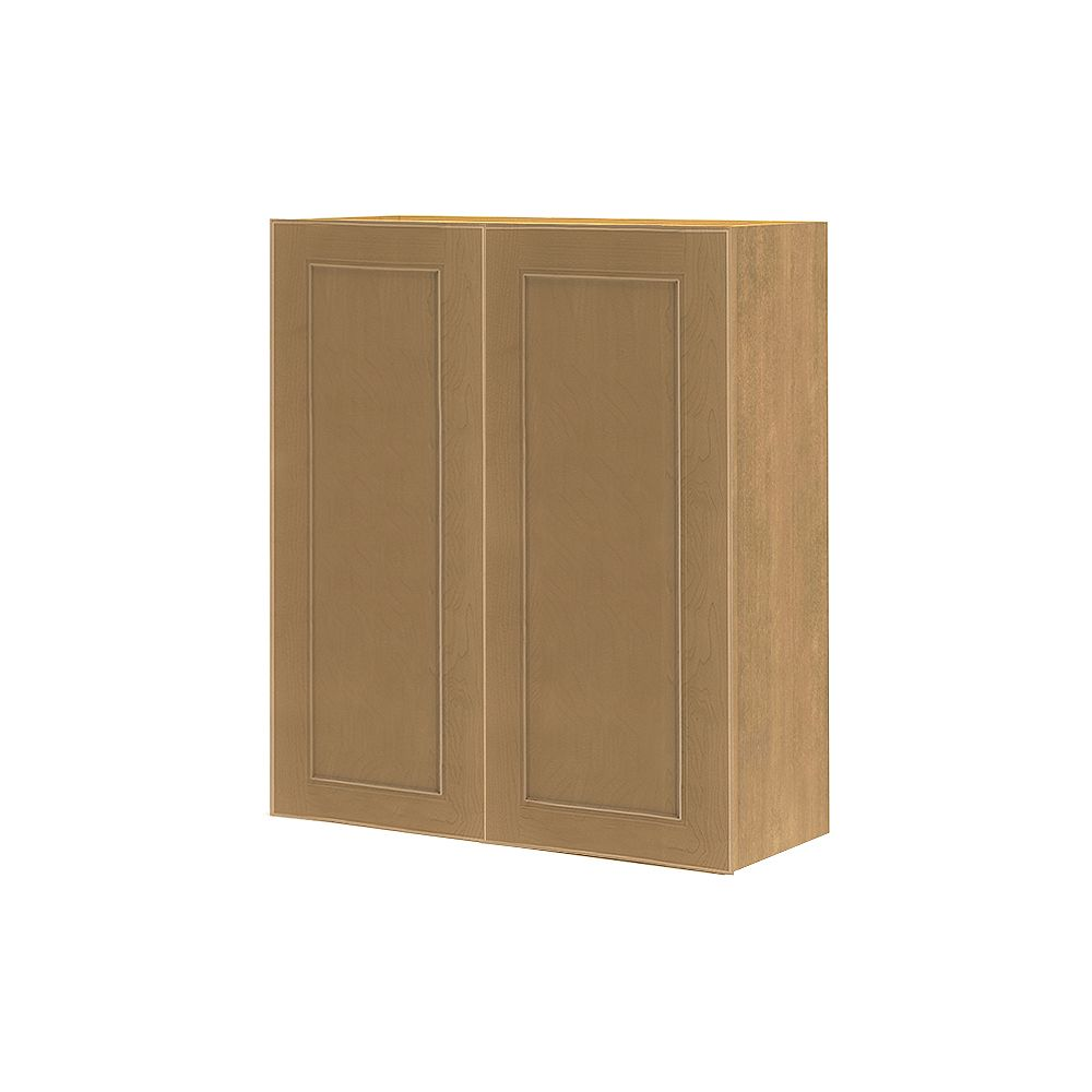 Thomasville Nouveau NOUVEAU Rhodes Tumbleweed Assembled Wall Cabinet 27 inches Wide x 30 inches High