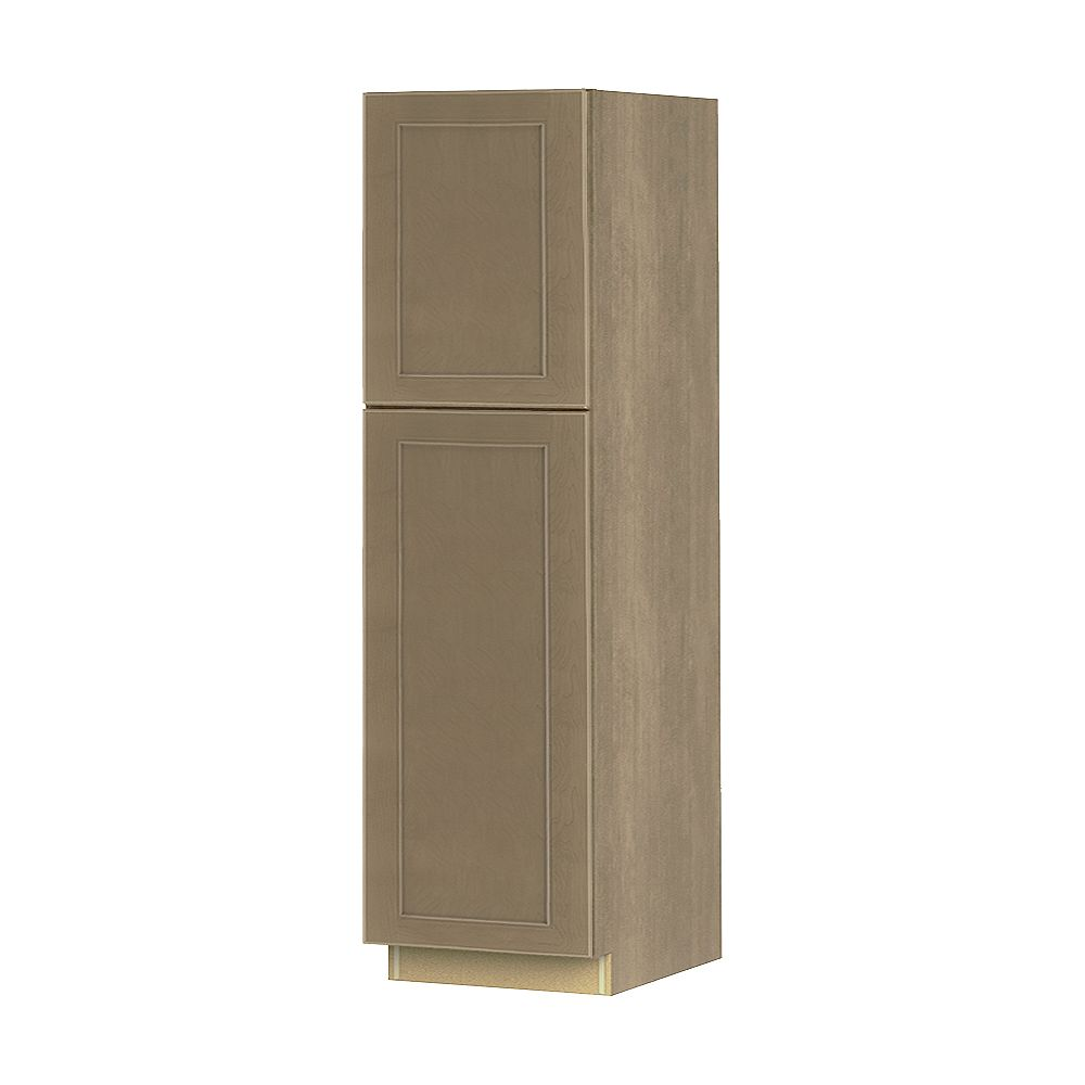 Thomasville NOUVEAU Rhodes Pebble Assembled Pantry Cabinet 24 inches Wide x 84 inches High