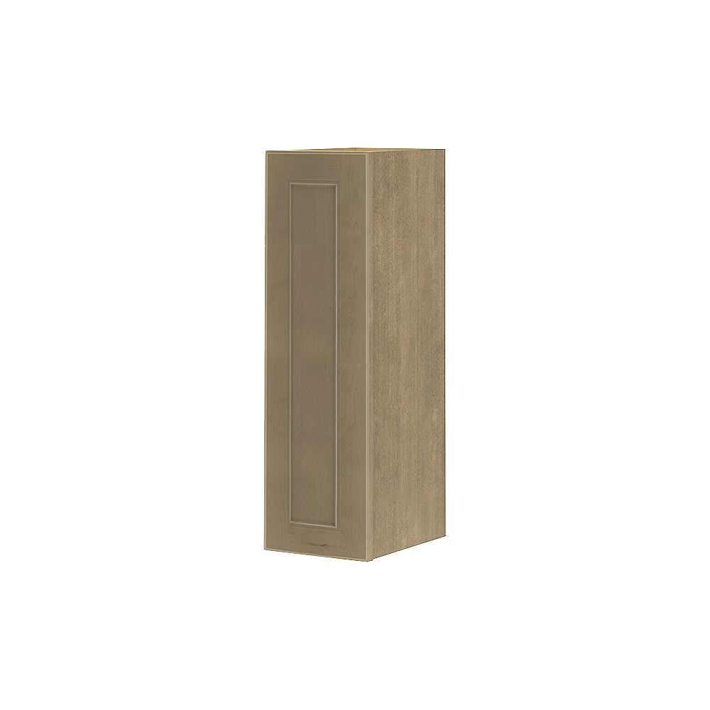 Thomasville Nouveau NOUVEAU Rhodes Pebble Assembled Wall Cabinet 9 inches Wide x 30 inches High