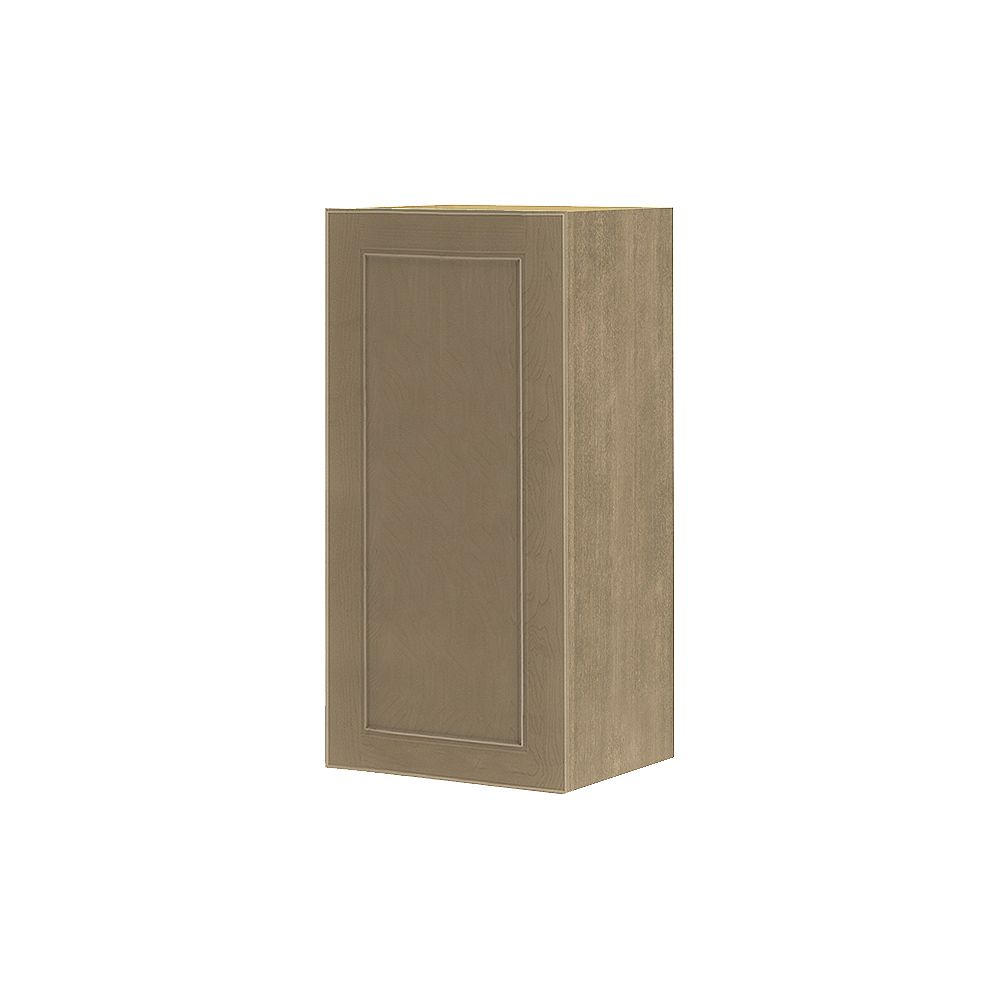 Thomasville NOUVEAU Rhodes Pebble Assembled Wall Cabinet 15 inches Wide x 30 inches High