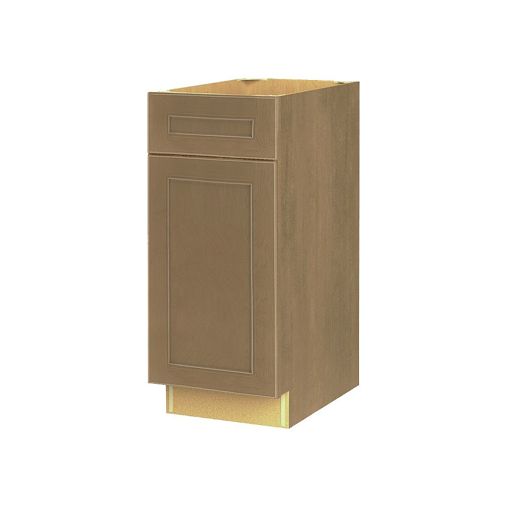 Thomasville NOUVEAU Rhodes Wrangler Assembled Base Cabinet with Drawer 15 inches Wide