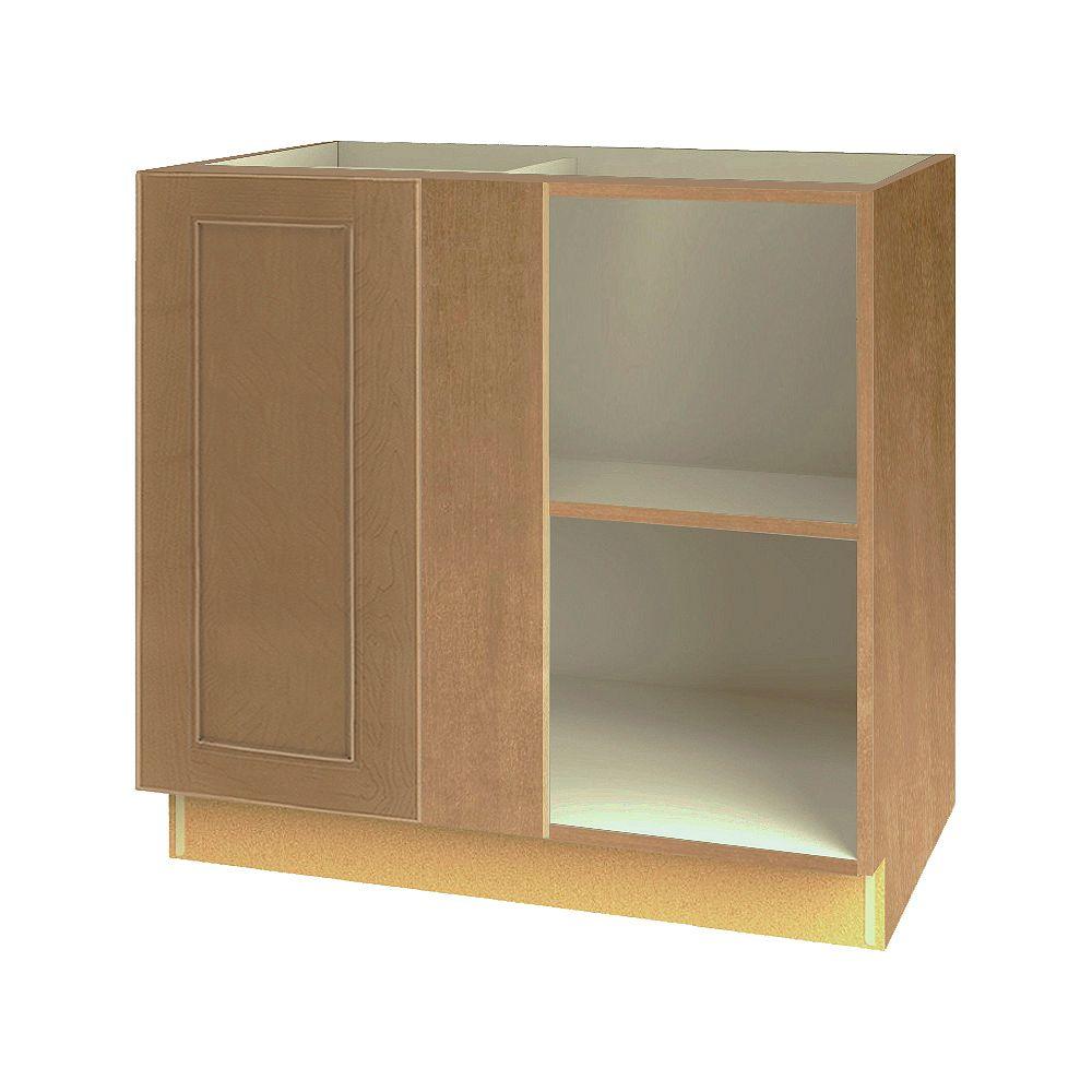 Thomasville NOUVEAU Rhodes Wrangler Assembled Corner Blind Base Cabinet 36 inches Wide