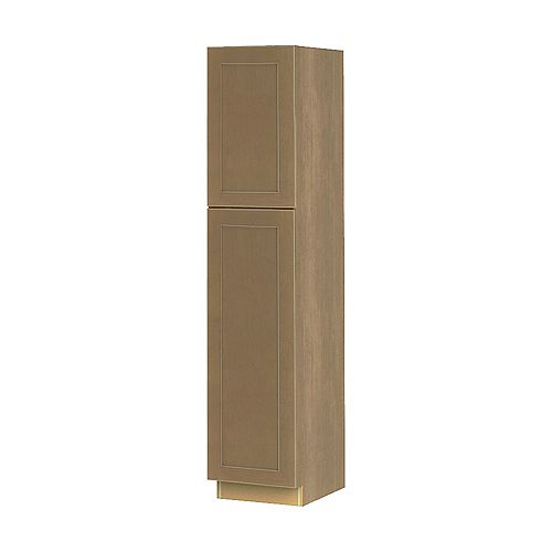 NOUVEAU Rhodes Wrangler Assembled Pantry Cabinet 18 inch Wide x 84 inch High