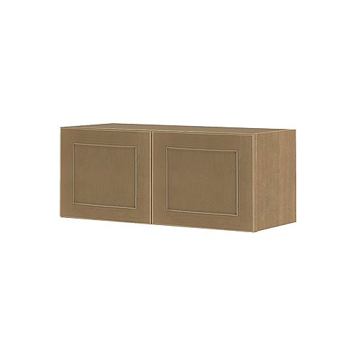 NOUVEAU Rhodes Wrangler Assembled Wall Cabinet 36 inch Wide x 13.5 inch High