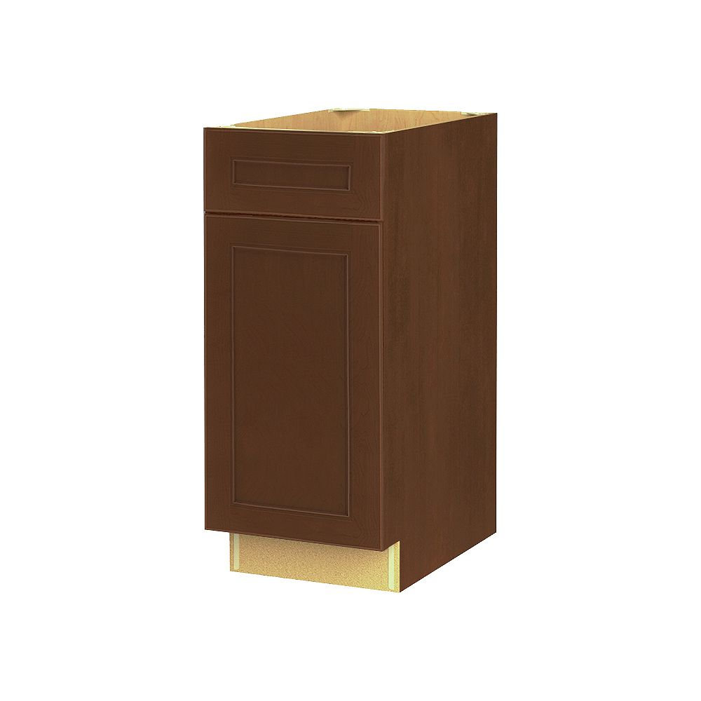 Thomasville NOUVEAU Rhodes Raisin Assembled Base Cabinet with Drawer 15 inches Wide