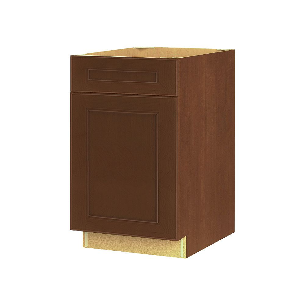Thomasville NOUVEAU Rhodes Raisin Assembled Base Cabinet with Drawer 21 inches Wide