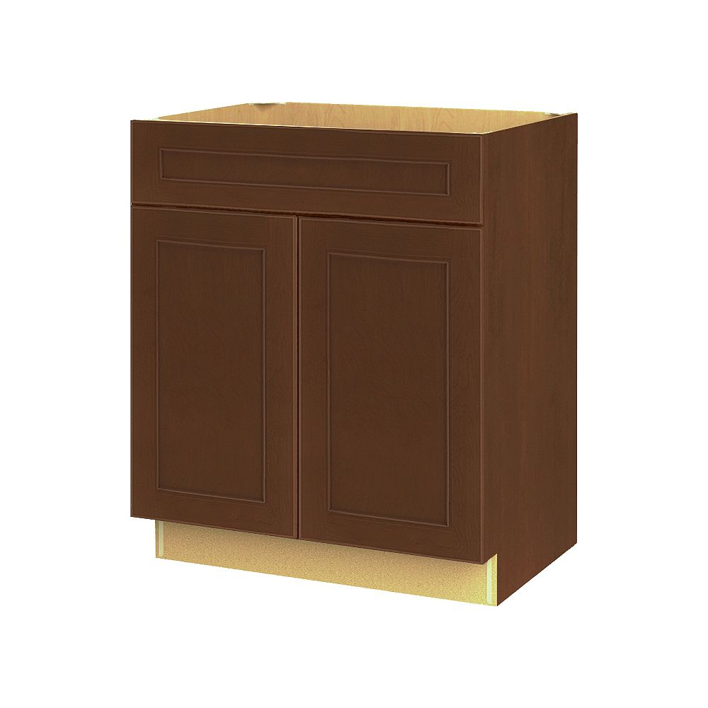 Thomasville NOUVEAU Rhodes Raisin Assembled Base Cabinet with Drawer 27 inches Wide