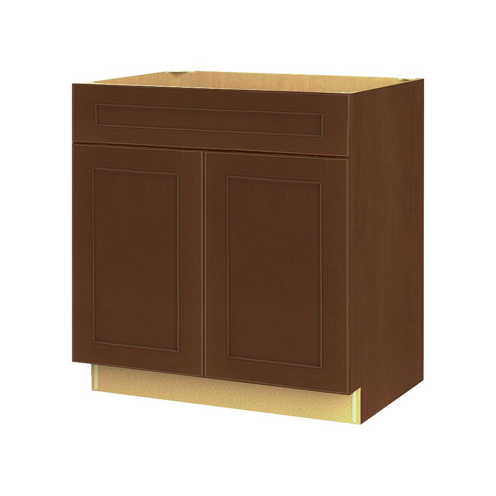 Thomasville NOUVEAU Rhodes Raisin Assembled Base Cabinet with Drawer 30 inches Wide