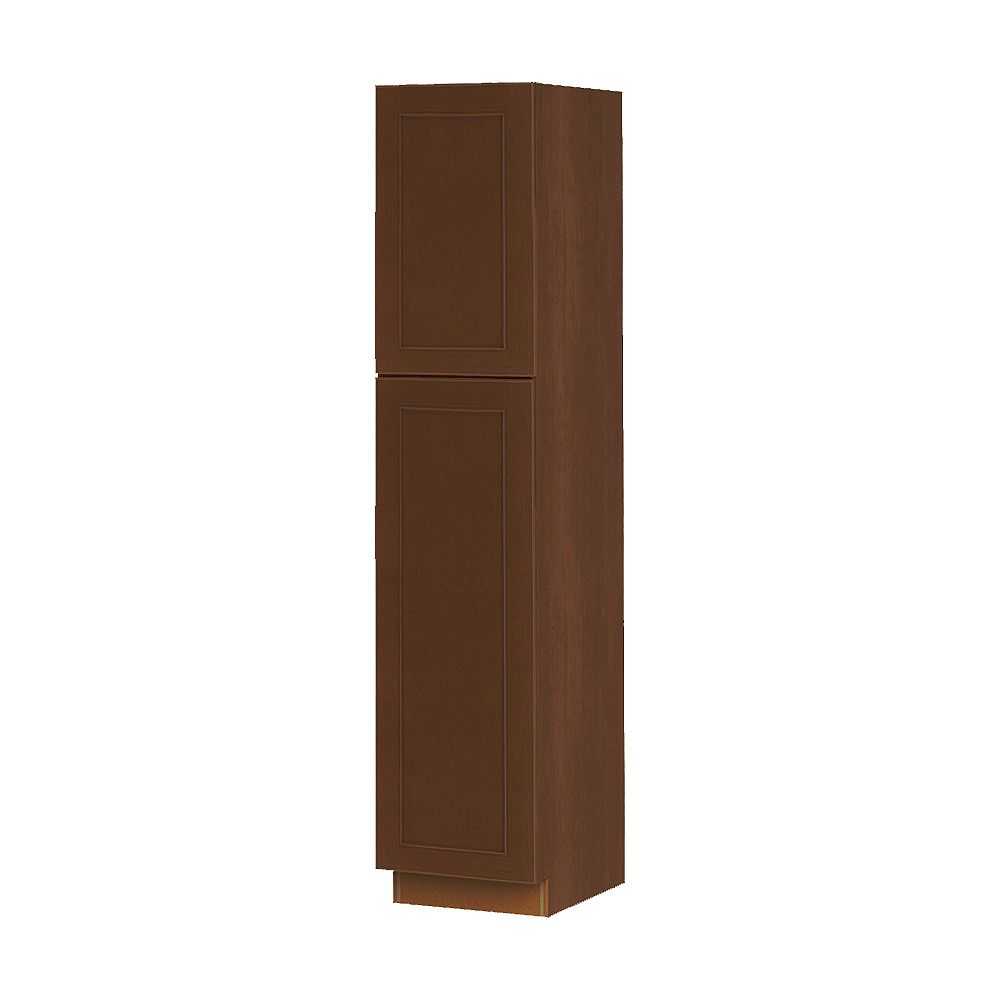 Thomasville NOUVEAU Rhodes Raisin Assembled Pantry Cabinet 18 inches Wide x 84 inches High