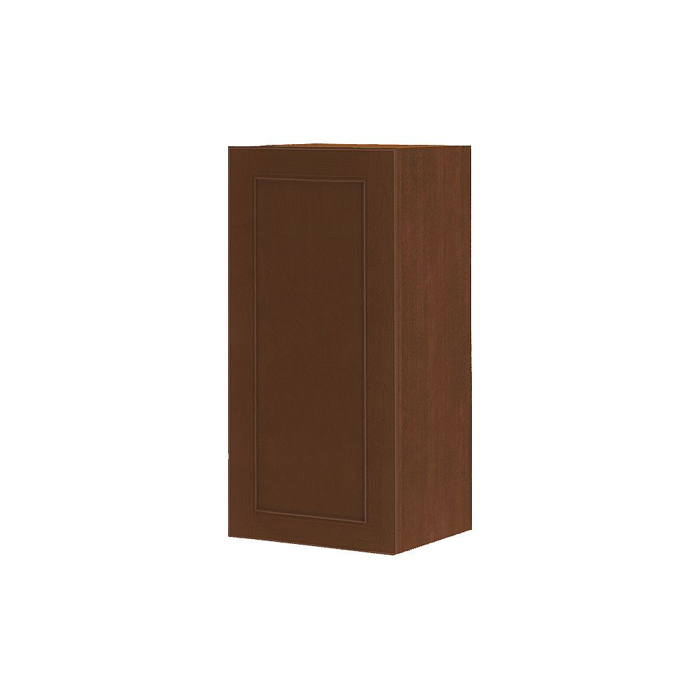 Thomasville Nouveau NOUVEAU Rhodes Raisin Assembled Wall Cabinet 15 inches Wide x 30 inches High