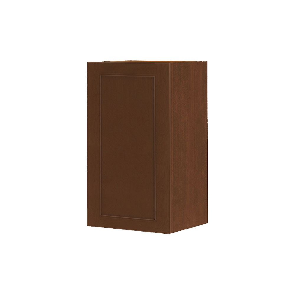 Thomasville Nouveau NOUVEAU Rhodes Raisin Assembled Wall Cabinet 18 inches Wide x 30 inches High