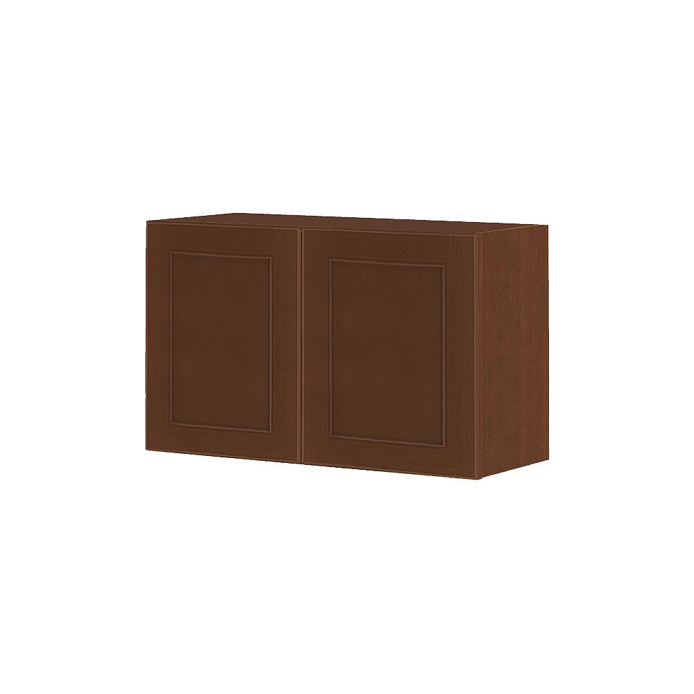 Thomasville NOUVEAU Rhodes Raisin Assembled Wall Cabinet 30 inches Wide x 18 inches High