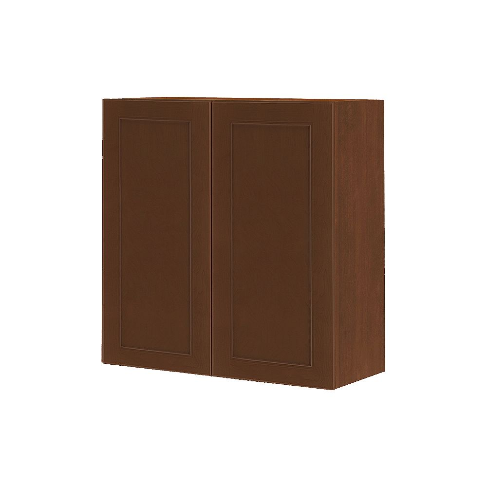 Thomasville NOUVEAU Rhodes Raisin Assembled Wall Cabinet 30 inches Wide x 30 inches High