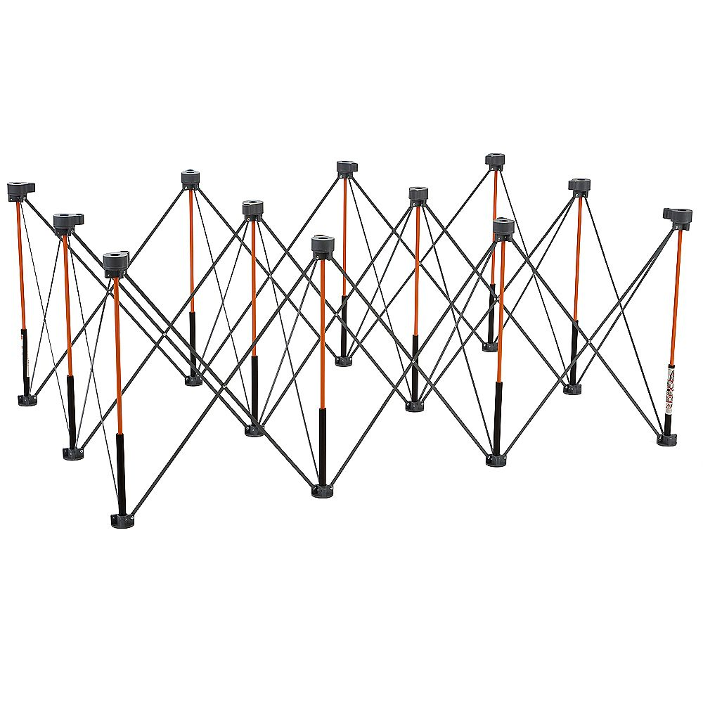 Bora Centipede 30 inch x 48 inch x 72 inch Work Support with 4 X-Cups, 4 Quick Clamps, Bag, CK12S