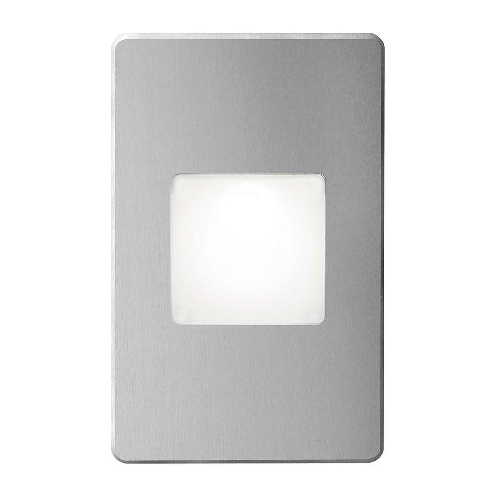 Dainolite Signature 3 Rectangle Brushed Aluminum Wall Light LED