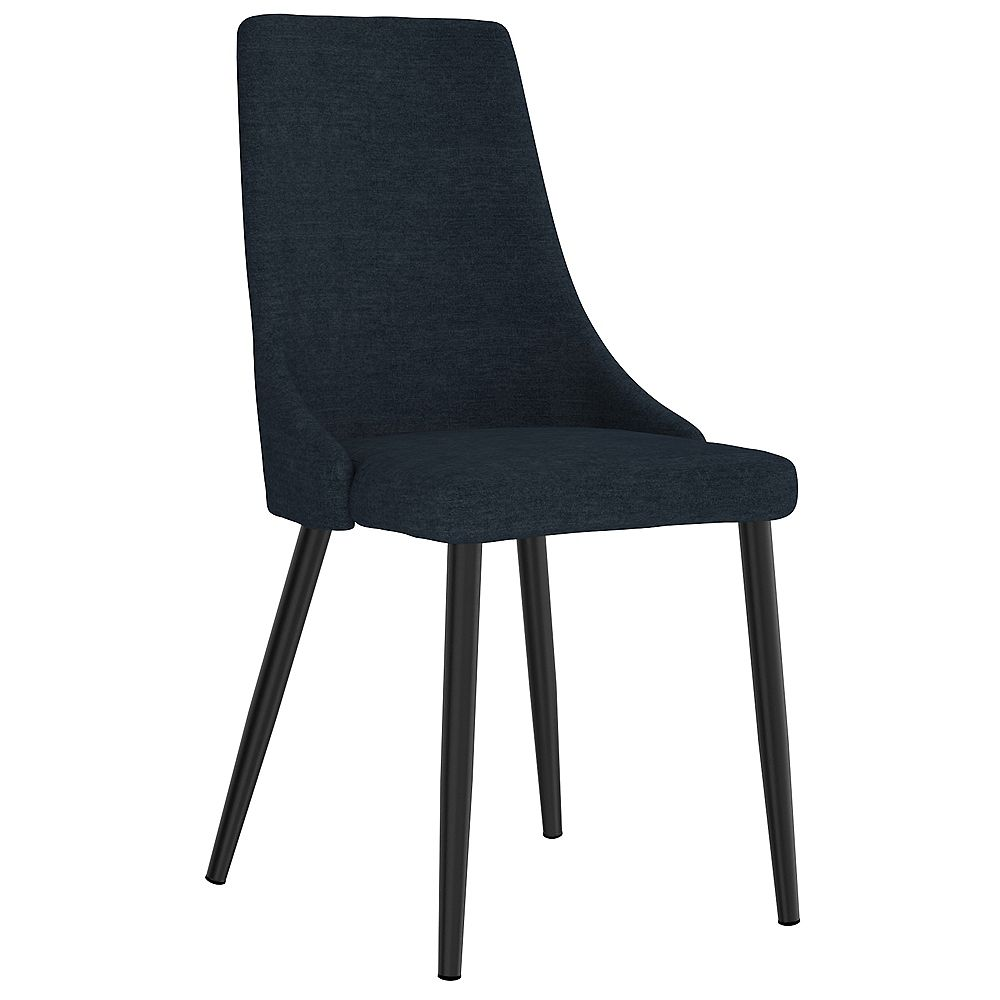 WHI Set of 2 Mid Century Upholstered Side Chair